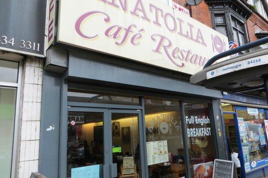 Anatolia Cafe: frontage