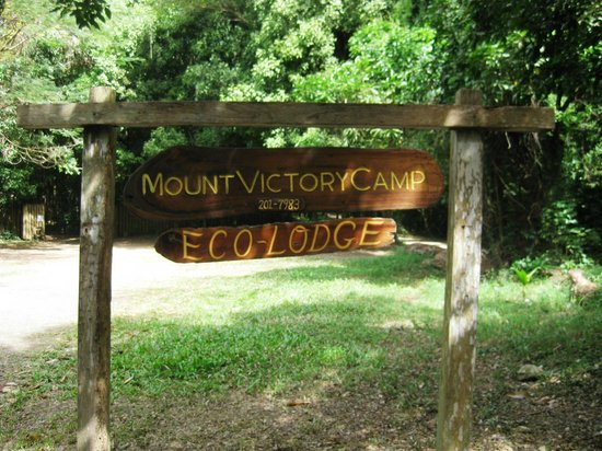 Entrance to Mount Victory Camp