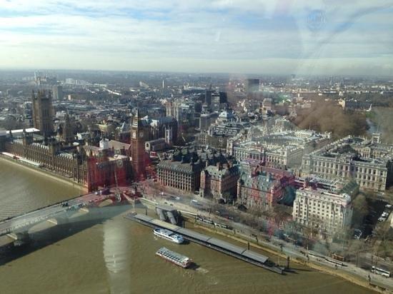 Club Quarters Hotel, Trafalgar Square : In prossimità dell'albergo, ripresa da London Eye