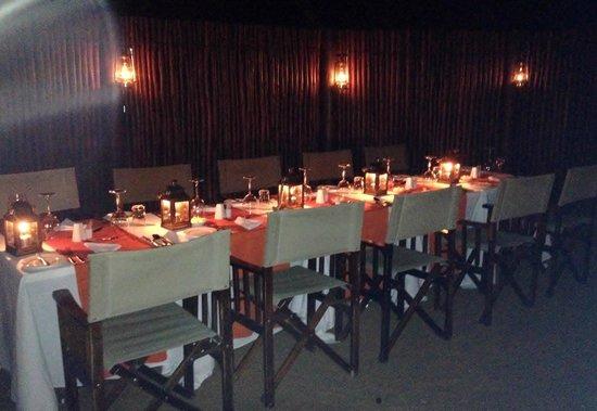 Kapama Buffalo Camp: Bonfire Dinner