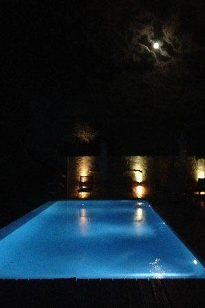 Kapama Buffalo Camp: Pool at Night