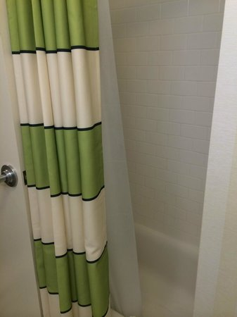 Fairfield Inn & Suites Cleveland Avon : Tub/shower combo is behind the door