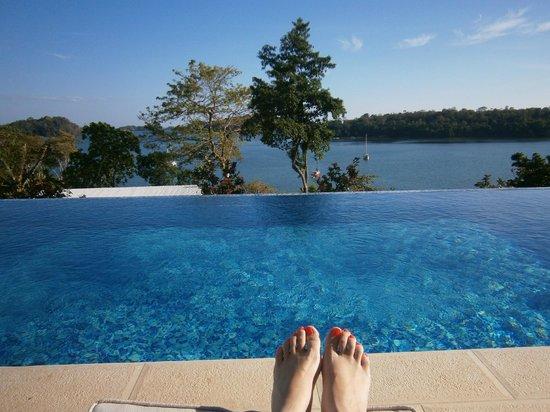 Hotel Bocas del Mar: una de las piscinas del hotel frente a nuestra habitacion
