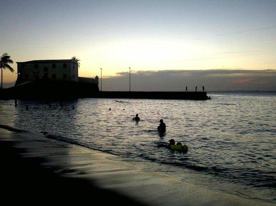 Porto da Barra: por do sol