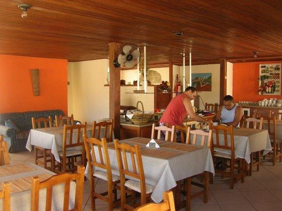 Hotel da Canoa: Area para el desayuno