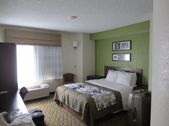 Sleep Inn at Miami International Airport: camera matrimoniale