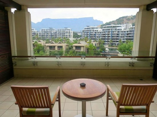 One&Only Cape Town: Marvellous view from marvellous balcony