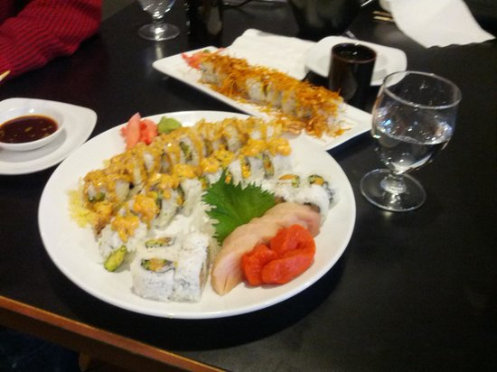 TAKI Japanese Grill: Good presentation and taste