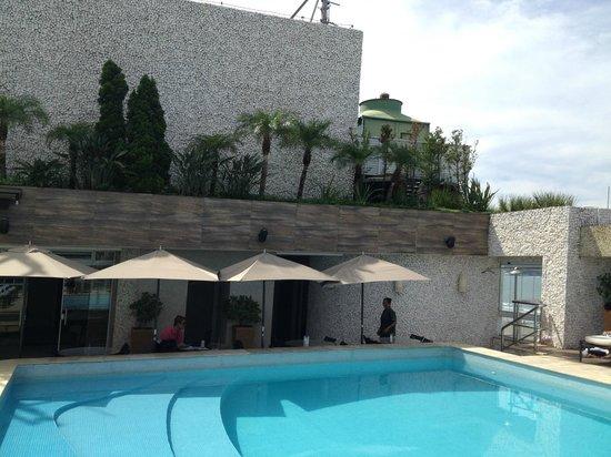 Parque Balneario Hotel: Piscina / Cobertura