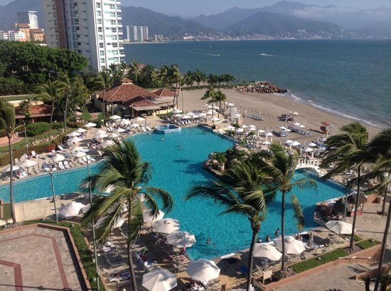 Marriott Puerto Vallarta Resort & Spa: View from room at CasaMagna