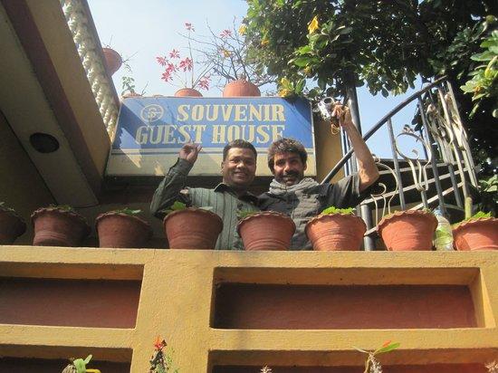 Souvenir Guest House & Restaurant: Terrasse 2