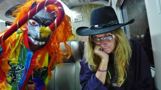 "PeruRail - Vistadome: The dancing ""Devil"""