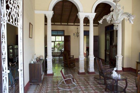 Hostal Yahima y Ariel: Wohnbereich der Familie
