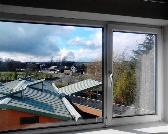 Hotel Kilkenny : view from upper floor bedroom window