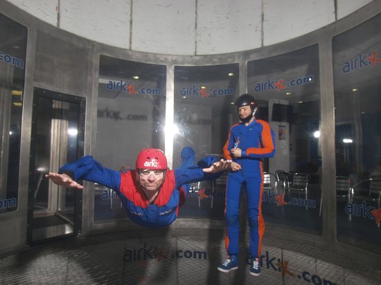 Airkix Indoor Skydiving Manchester: My flight experience