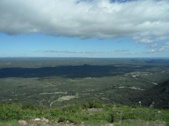 Vista desde el mirador de Cuchi Corral