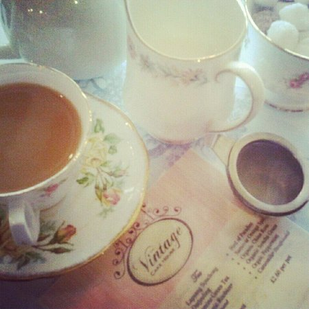 The Vintage Cake House: Great cuppa