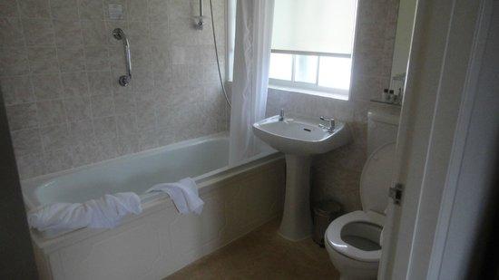 Brandon House: Our first bathroom needs a towel rail.