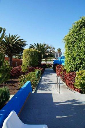 Tropical La Zona: Gartenanlage