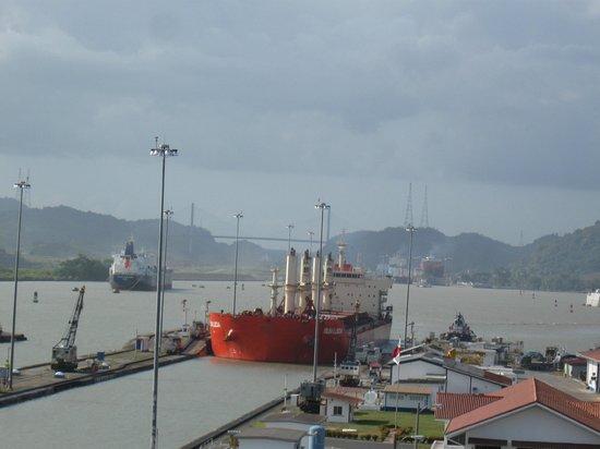 Royal Decameron Golf, Beach Resort & Villas : Le canal de Panama
