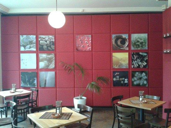 Cafe Anton Hannes: Inneneinrichtung