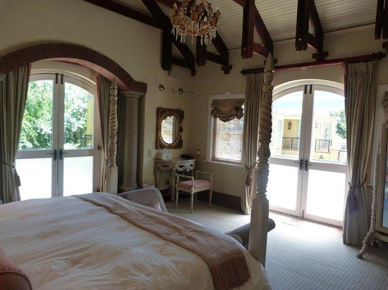 Franschhoek Country House & Villas : Bedroom