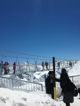 Mount Titlis: Suspension bridge