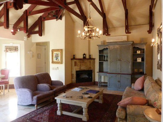 Franschhoek Country House & Villas: Lounge