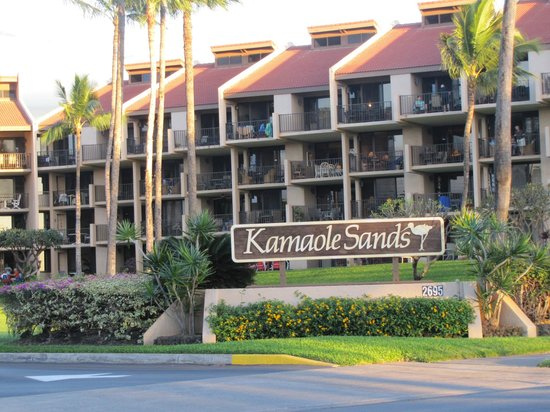 Kamaole Sands: We were in this building, 10