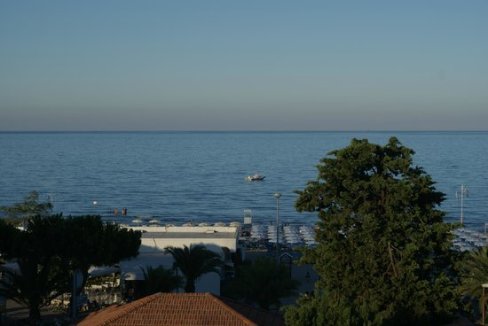 Hotel Beach: panorama dal terrazzo