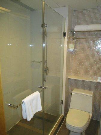 Novotel Century Hong Kong: douche salle de bains