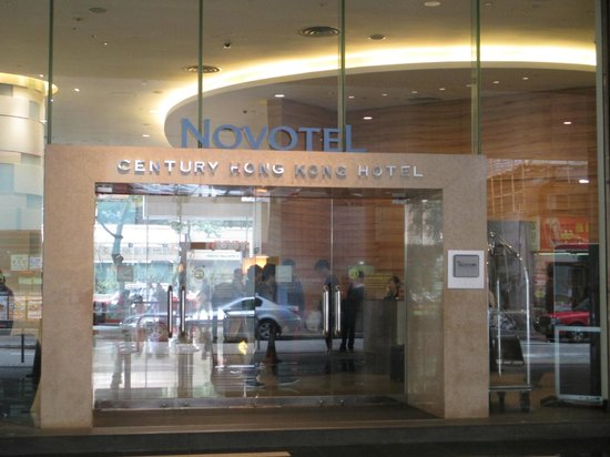 Novotel Century Hong Kong: Derrière de l'hôtel