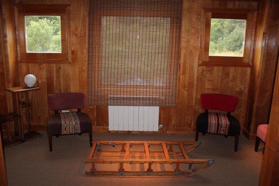 Sieteflores Hosteria de Montana: Descanso de la escalera