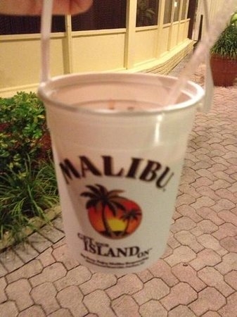 Days Hotel - Thunderbird Beach Resort: malibu buckets from beach bar!
