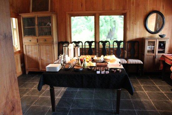 Sieteflores Hosteria de Montana: Desayuno
