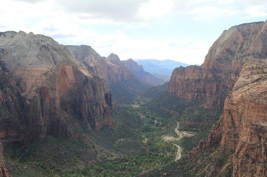 Angel's Landing: View from the top