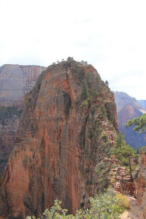 Angel's Landing : The last part of the hike