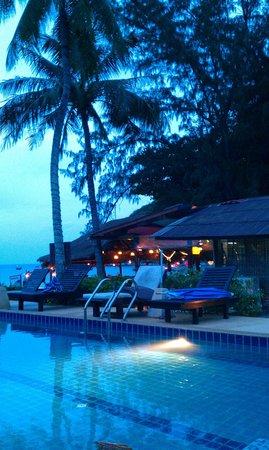 Central Cottage Resort: 's Avonds gaan de lampjes aan, gezellig!