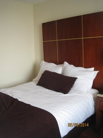 Camino Real Aeropuerto: Picture of the bed