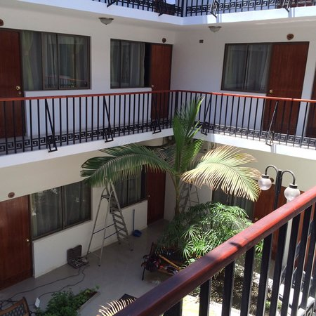 Hotel Samana: Distribución interior