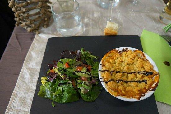La Cuisine du Boucher : [Spécial Fête des Grands Mères] Crumble de Tomates et Chèvre