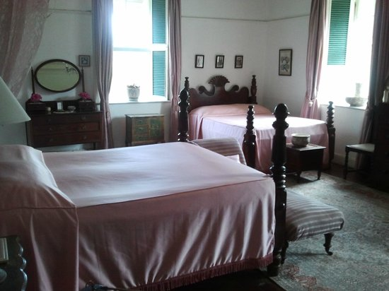 Greenwood Great House: One of the bedrooms in the Great House