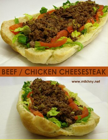 Milk & Honey Slices Top Round Beef At Premises And Bakes The Bread......