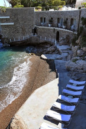 Cap Estel Hotel : Cap Estel Private beach