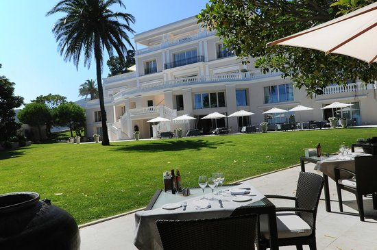 Cap Estel Hotel : Gastronomic Restaurant view (One star Michelin)