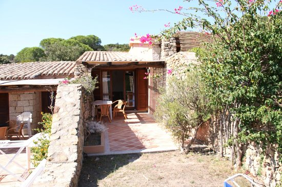 Marina di Conca Verde: 1-bed villetta's outdoor verandah
