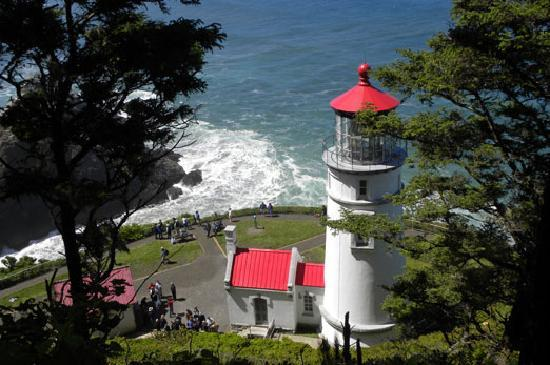 Heceta Head Lighthouse Florence Oregon