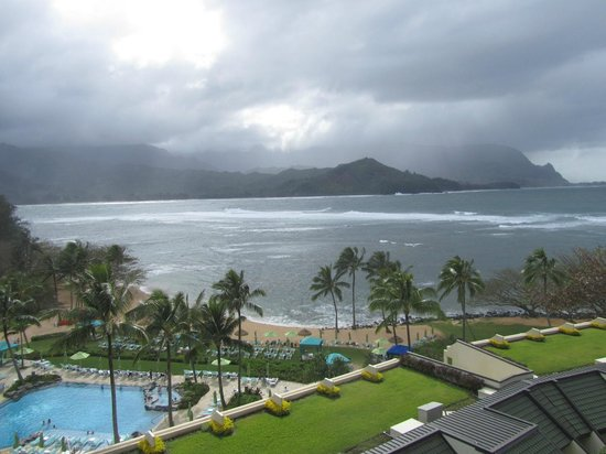 St. Regis Princeville Resort : View from room 716, right side
