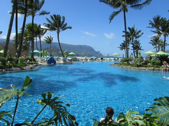 St. Regis Princeville Resort : Beautiful pool
