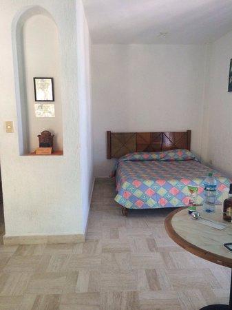 Holbox Suites : Segunda cama matrimonial dentro de la habitación
